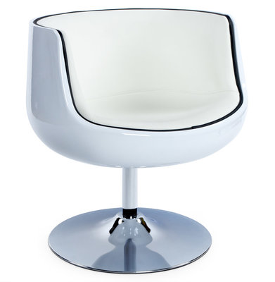 Design fauteuil HARLOW Wit