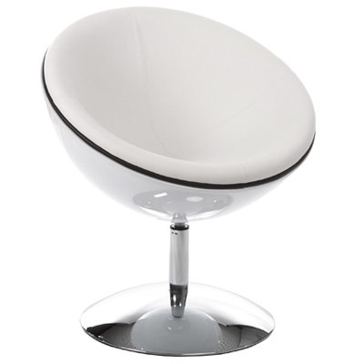 Witte Fauteuil SPHERE