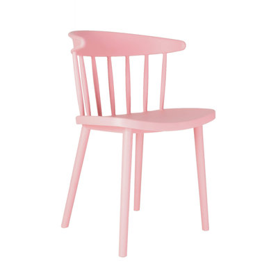 Stoel ODI roze (in/outdoor) - LOOK J104