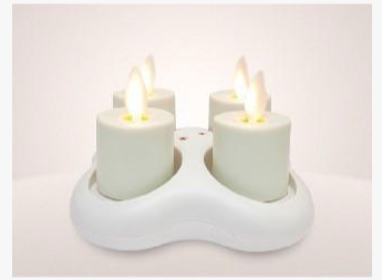 Luminara Rechargeable Tealight (Set van 4)