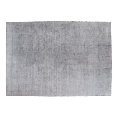 Nevada Rug - Handwoven rug in silver grey pile 5mm 200x300 cm
