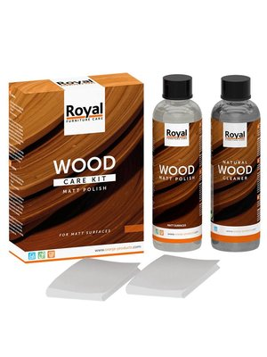 Wood Care Kit MattPolish+Cleaner 2x250ml